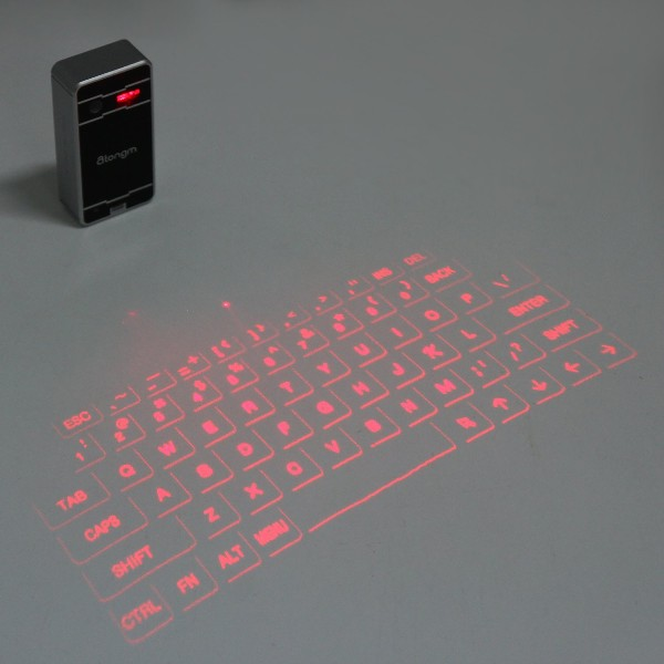 laser bluetooth keyboard proj2