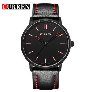 curren m8233 black & red