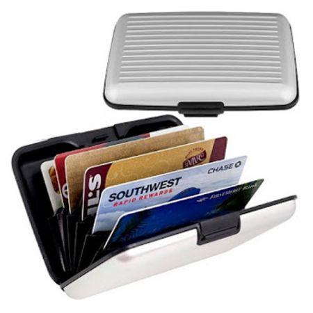 32ad08f255 Πορτοφόλι Ασφαλείας για Πιστωτικές Κάρτες με Προστασία Υποκλοπής ...