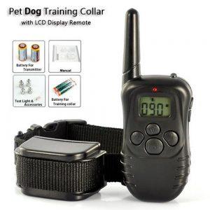pet dog training collar