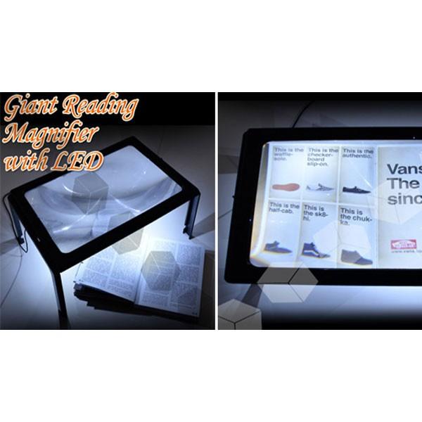 Hands Free Μεγεθυντικός Φακός Γίγας με Φωτισμό LED 1