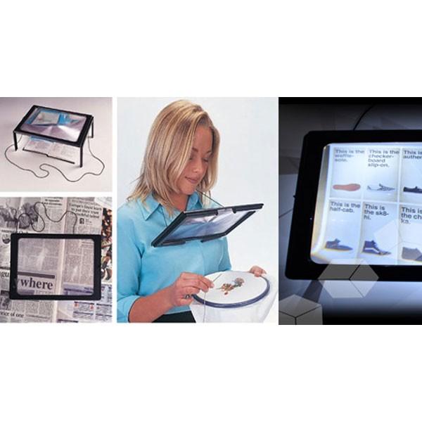 Hands Free Μεγεθυντικός Φακός Γίγας με Φωτισμό LED 3
