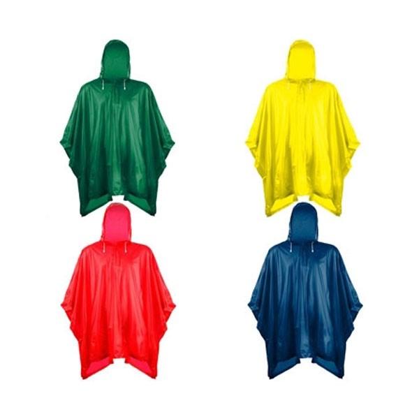 Αδιάβροχο Τσέπης Πολλαπλών Χρήσεων με Κουκούλα – 4 Τεμάχια
