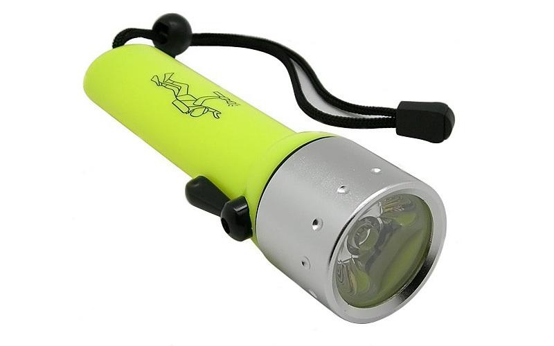 Αδιάβροχος Καταδυτικός Φακός Cree Q3 LED 180 Lumens 20m 1