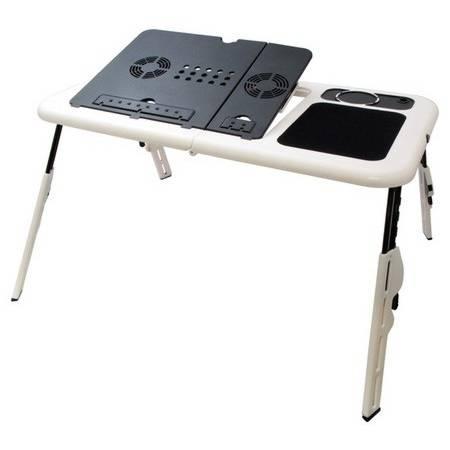Φορητό, Aναδιπλούμενο Τραπεζάκι για Laptop με 2 Ανεμιστηράκια1