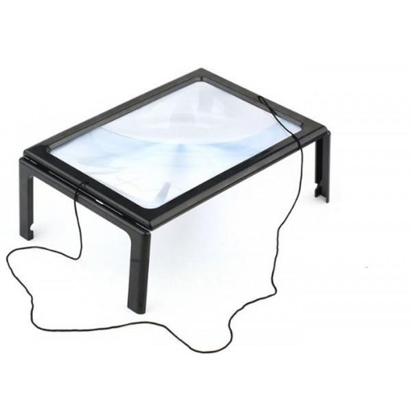 Hands Free Μεγεθυντικός Φακός Γίγας με Φωτισμό LED