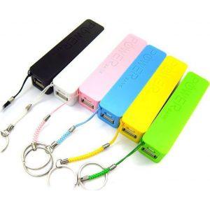 Mini Universal USB φορτιστής Smartphones – PowerBank 2600mAH