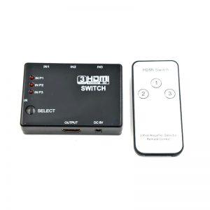 Τηλεχειριζόμενο HDMI SWITCH 3-1