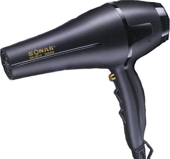 Σεσουάρ-Πιστολάκι Μαλλιών 3900W - SONAR SN-9910 - StinPortaSou.gr 973170892b5