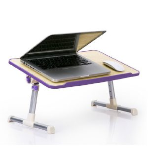 oem laptop mdf table purple