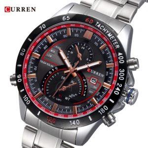 CURREN M8149 SILVER RED