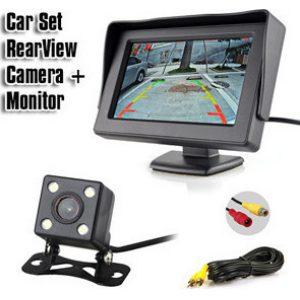 set car cam -monitor