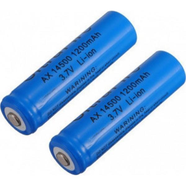 Epanafortizomeni mpataria 1200mAh 14500 3.7v battery