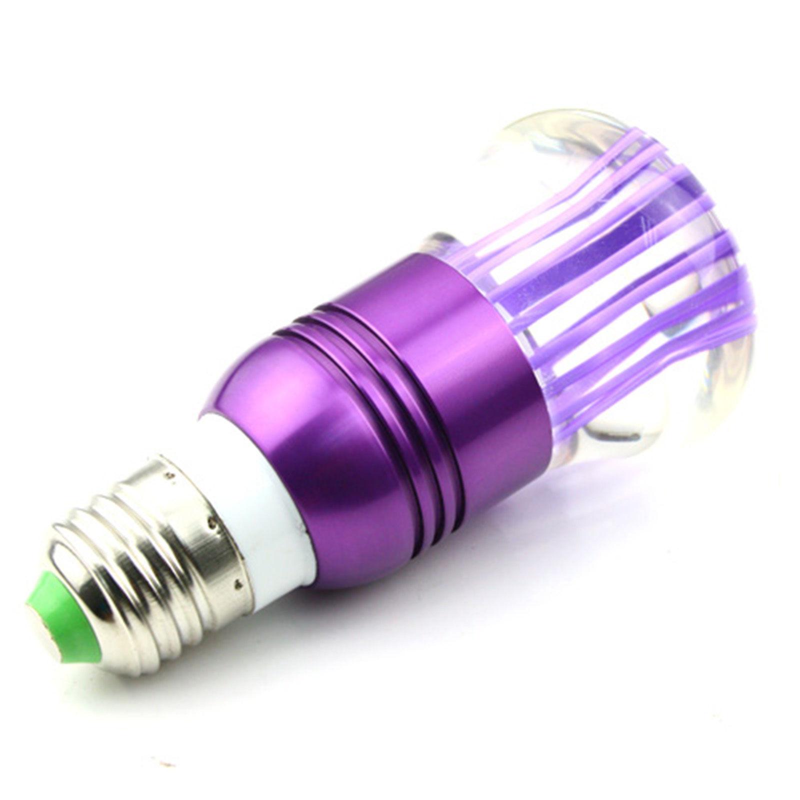 Rgb led lampa E27 3watt 16 xromaton1