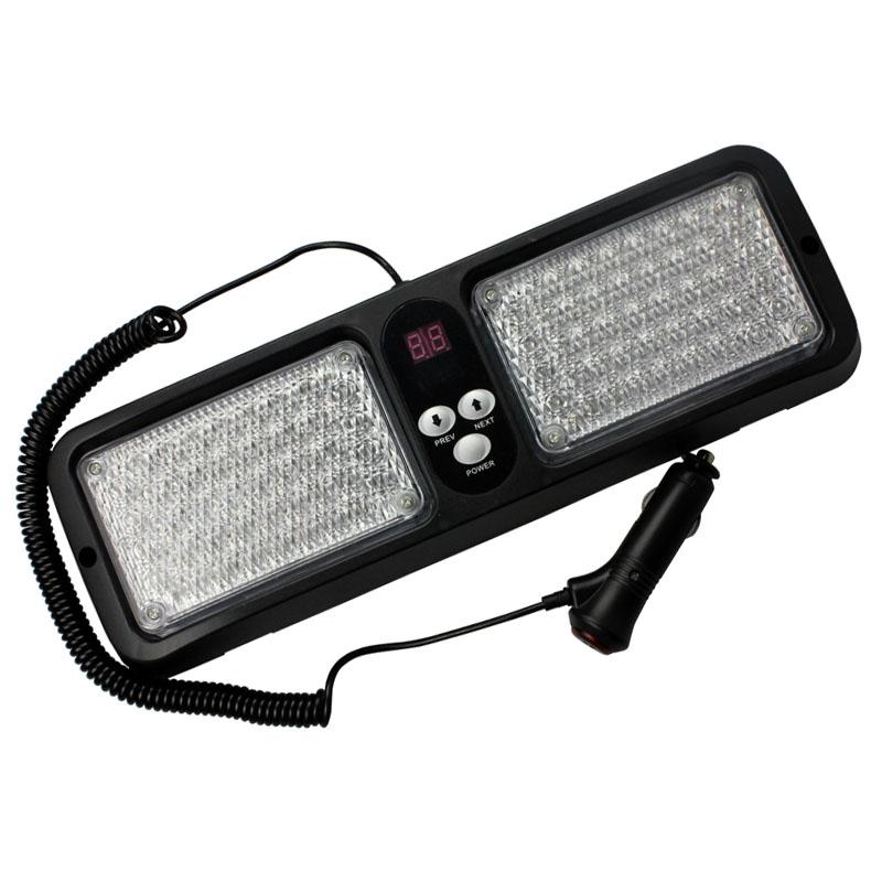 fota LED asfalias – astinomias, peripolikou, faros ektaktis anagkis autokinitou 12V 5W tipos leuka LED