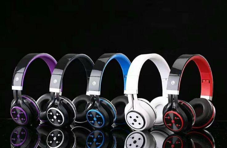 Asirmata Akoustika Bluetooth Headphone SD Mp3 Player, Handsfree, Aux, FM Radio 1