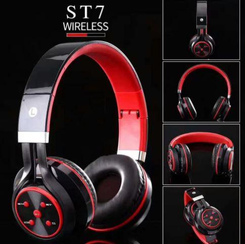 Asirmata Akoustika Bluetooth Headphone SD Mp3 Player, Handsfree, Aux, FM Radio 3