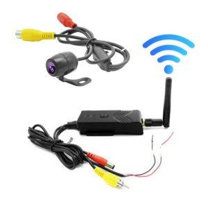 Asirmati Wifi kamera opisthoporias Autotikitou gia sindesii se kinito kai tablet