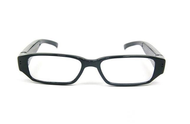 HD gialia oraseos me krifi kamera kai mikrofono – SPy camera glasses 720p DVR-5VM