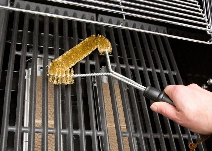 Vourtsa katharismou BBQ Kilindriki Handy Grill Brush – Set 2 tmx 2