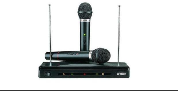 karaoke me 2 mic WVNGR C-05A