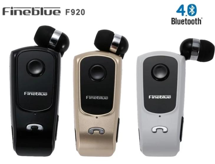 Akoustiko Bluetooth Handsfree me Donisi kai Epektinomeno Kalodio Fineblue F920 2