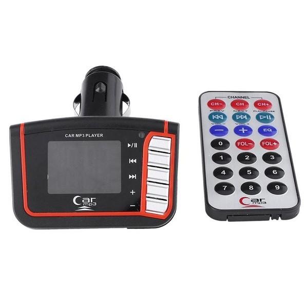 Car MP3-MP4 Music & Video Player me FM Transmitter kai 1,8 LCD othoni 1