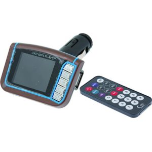Car MP3-MP4 Music & Video Player me FM Transmitter kai 1,8 LCD othoni