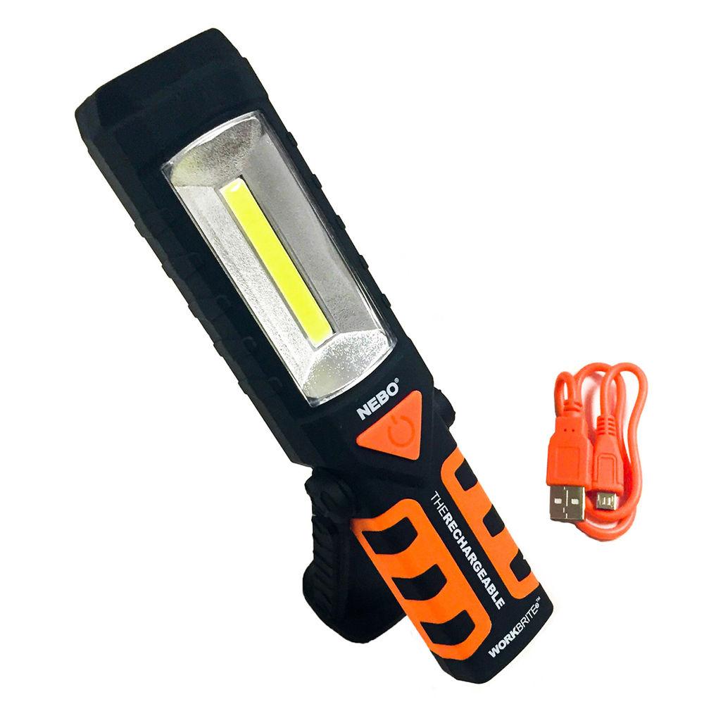 Diplos fakos ergasias COB LED 12 kai 200 Lm – 360o me magniti kai gantzo stirixis 2