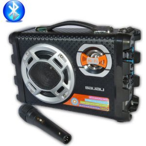 Forito ixosistima bluetooth usb - sd karaoke mp3 player - multimedia speaker cmik - b28