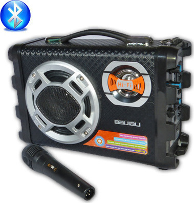 Forito ixosistima bluetooth usb – sd karaoke mp3 player – multimedia speaker cmik – b28