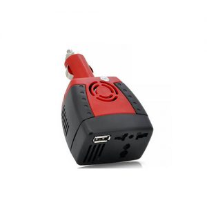 Inverter aftokinitou 150W mmetatropeas tasis 12V se 220V me USB