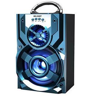 Ixosistima bluetooth me LED USB-SD-AUX multimedia player MS-226BT