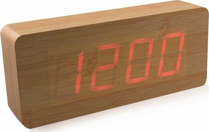 Ksilino vintage roloi imerologio ksipnitiri thermometro me esthitira ixou  donisi led 09800 d8bac8abd3a
