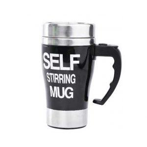 i koupa pou anakatevei moni tis ton kafe - Self Stirring Mug