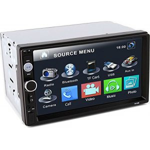 2DIN 7in othonis afis aftokinitou Bluetooth SD-USB-AUX-MP3-4-5 Multimedia Player YH-8702