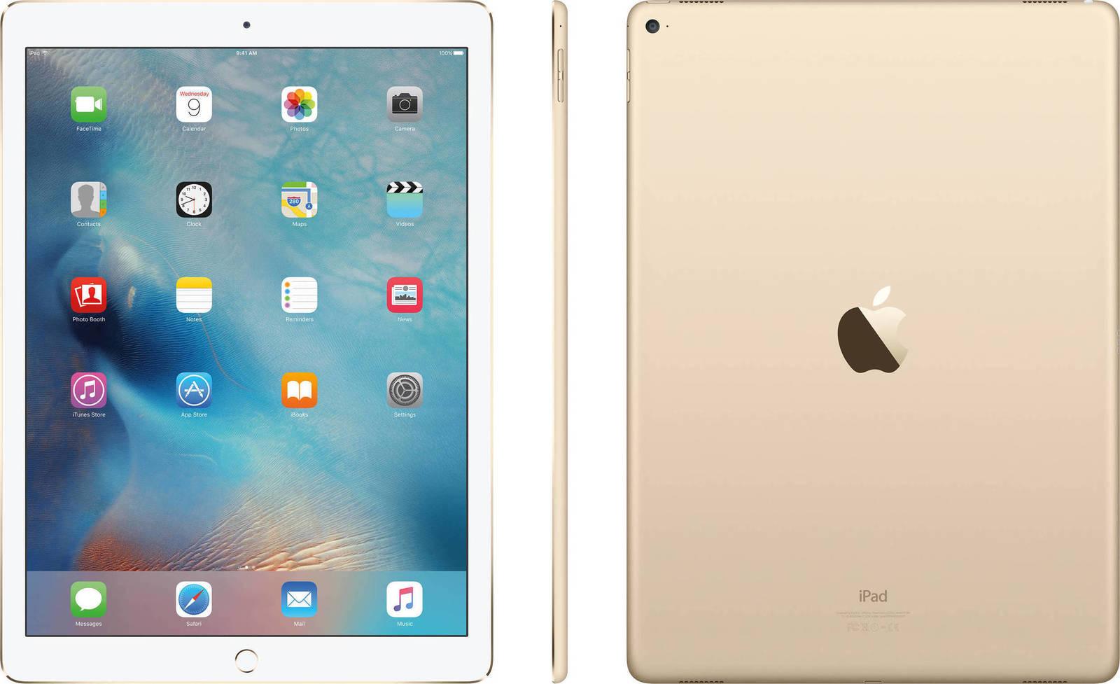 Apple iPad Pro 12.9 Wi-Fi 32GB Gold ML0H2FD-A 1