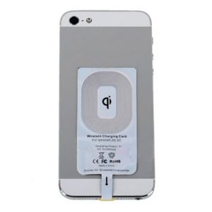 Asirmatos dektis fortisis Qi Wireless Charger Receiver gia iPhone 5-5s-6-6s7-7s 1