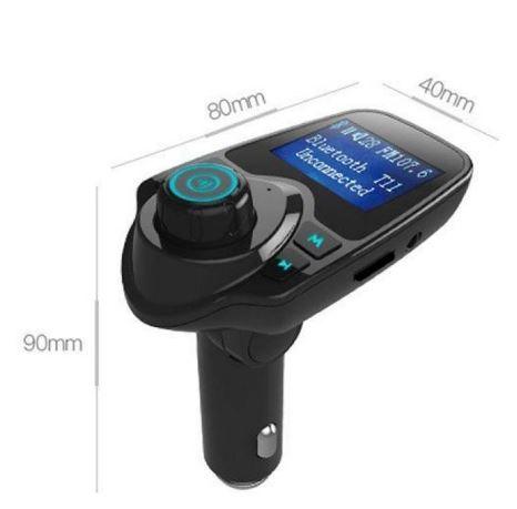 Car Fm Transmitter aftokinitou USB, SD, AUX Bluetooth – anixtis akroasis & fortistis USB 2