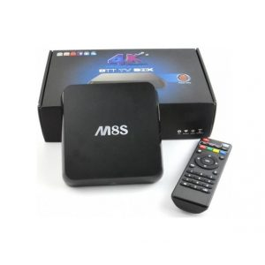 Mini Android TV Box 4K Ultra HD OTT M8S KODI
