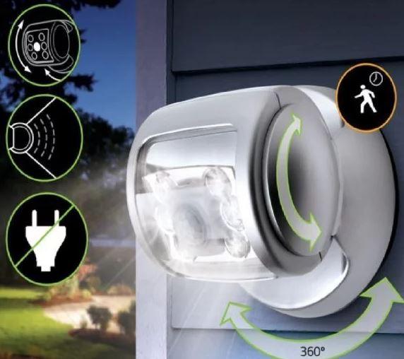 mini aftomatos provoleas me 30 led 200lm kai esthitira fotos aftomatis energopoihshs 1