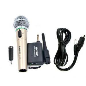 asirmato kai ensirmato mikrofono dj karaoke vhf hifi wvngr wg-309e