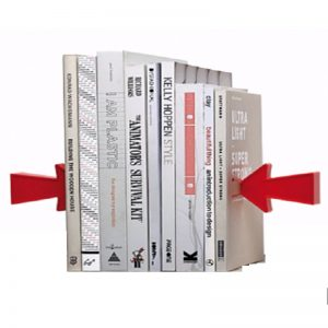 Magnetic Arrow Bookends Main
