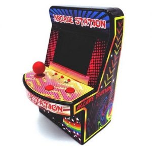 Mini Arcade Station 240 games main