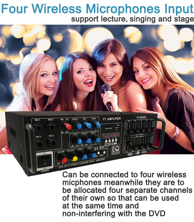 Karaoke YT-G0326 Main 3