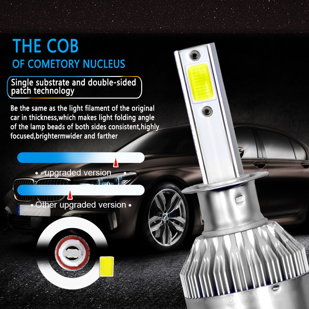LED COB Η1 8000Κ Main 2