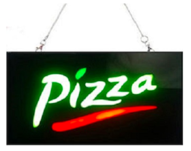 PIZZA SIGN MAIN OEM