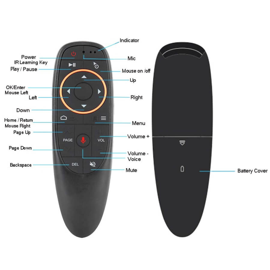 Air Mouse Remote Control Oem main 3