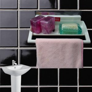 Soap & Towel Hanger Main