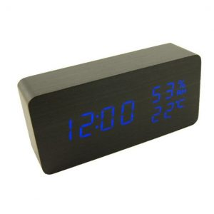 LED Wooden Clock main 1